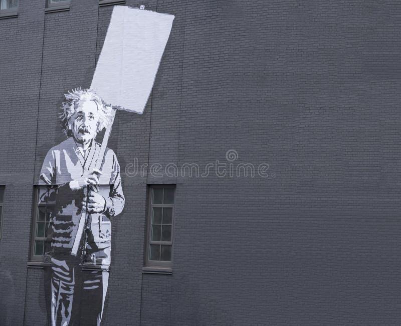 Αλβέρτος einstein στοκ φωτογραφία με δικαίωμα ελεύθερης χρήσης