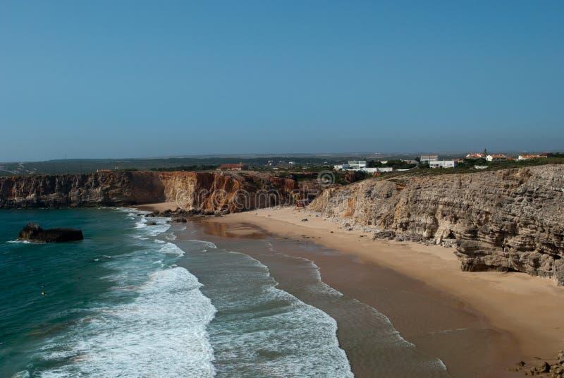 Αλγκάρβε Πορτογαλία και ο Ατλαντικός Ωκεανός στοκ εικόνες με δικαίωμα ελεύθερης χρήσης