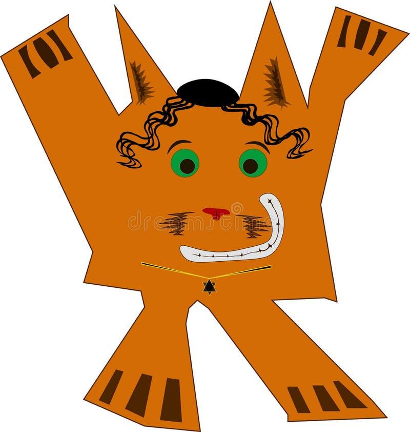 Αλεπού διασκέδασης, ένας Εβραίος στοκ εικόνες