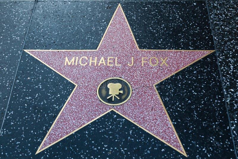 Αλεπού του Michael J στοκ φωτογραφίες με δικαίωμα ελεύθερης χρήσης
