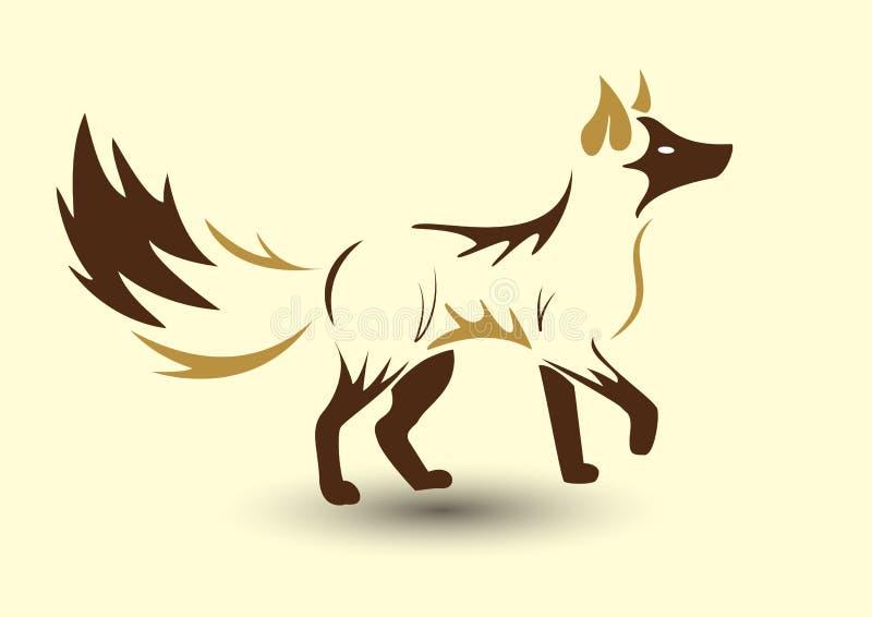 αλεπού χρυσή στοκ φωτογραφία