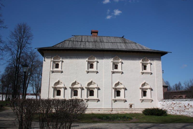 Αδελφικό σώμα στο ιερό μοναστήρι Efimiev. Ρωσία, Σούζνταλ. στοκ εικόνες με δικαίωμα ελεύθερης χρήσης