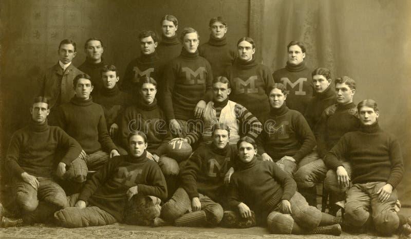 Αδηφάγοι του Μίτσιγκαν το 1899 στοκ εικόνες