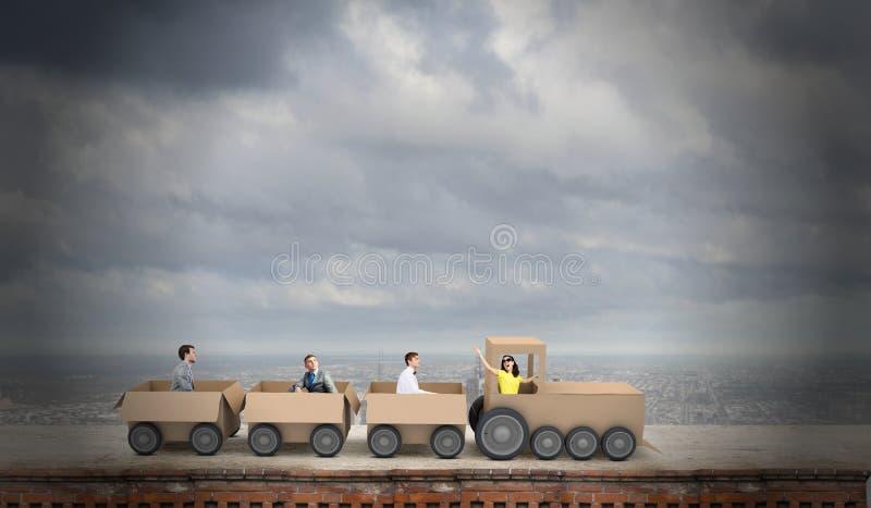 Αλληλεπίδραση στην επιχείρηση στοκ φωτογραφία με δικαίωμα ελεύθερης χρήσης