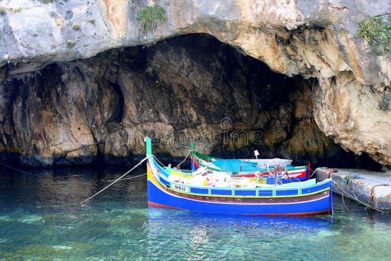 αλιεία βαρκών παραδοσια& στοκ φωτογραφία