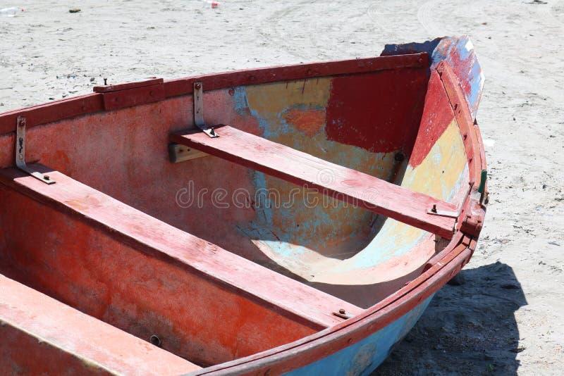 Αλιευτικά σκάφη, Paternoster, δυτικό ακρωτήριο, Νότια Αφρική στοκ εικόνα