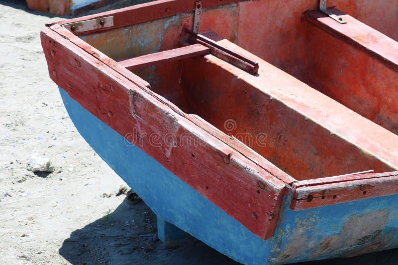 Αλιευτικά σκάφη, Paternoster, δυτικό ακρωτήριο, Νότια Αφρική στοκ εικόνες με δικαίωμα ελεύθερης χρήσης