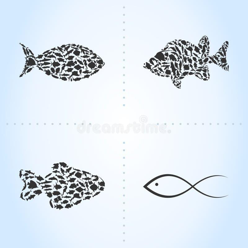 Αλιεύστε ένα εικονίδιο διανυσματική απεικόνιση