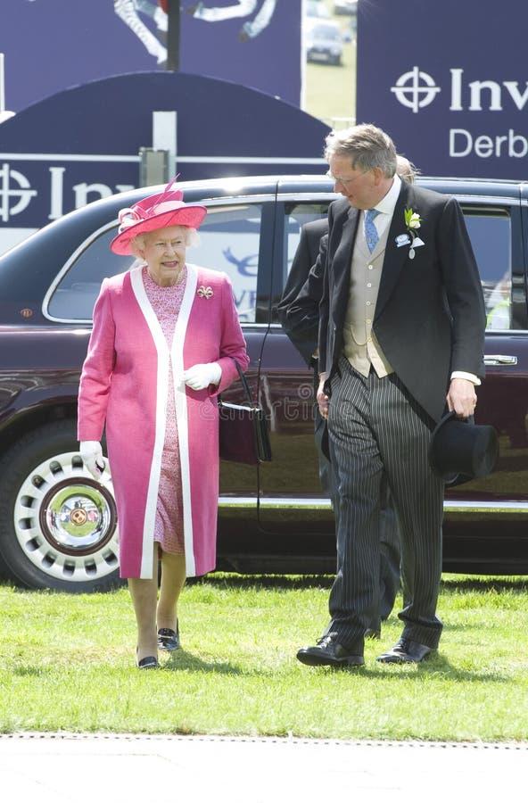 Α.Μ. βασίλισσα Elizabeth II στοκ εικόνα