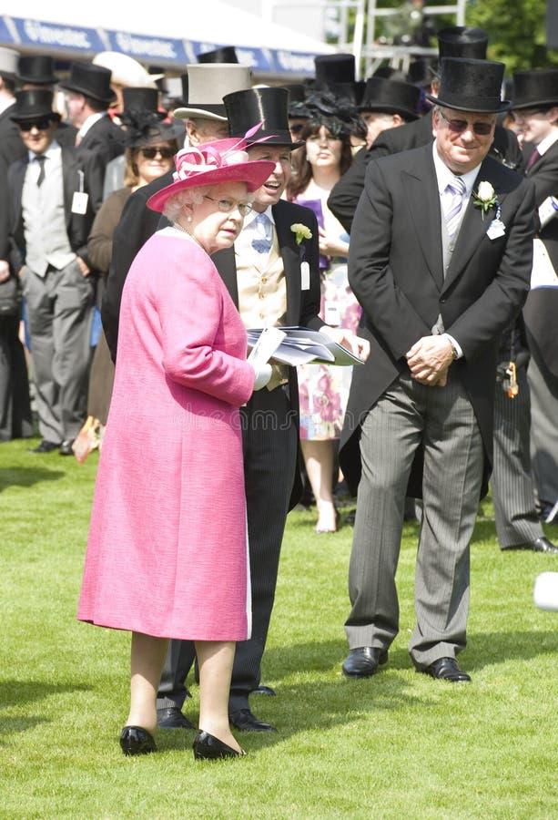 Α.Μ. βασίλισσα Elizabeth II στοκ φωτογραφία με δικαίωμα ελεύθερης χρήσης