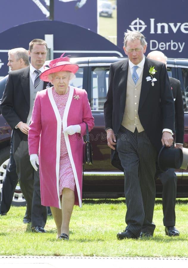 Α.Μ. βασίλισσα Elizabeth II στοκ εικόνες με δικαίωμα ελεύθερης χρήσης