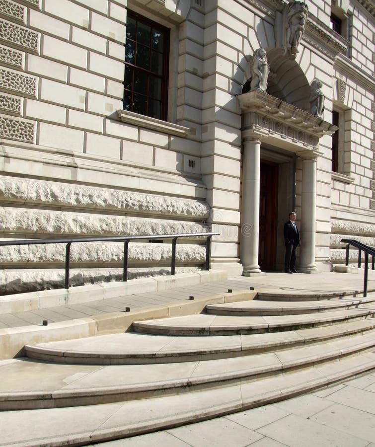 Α.Μ. Υπουργείο Οικονομικών στοκ εικόνες