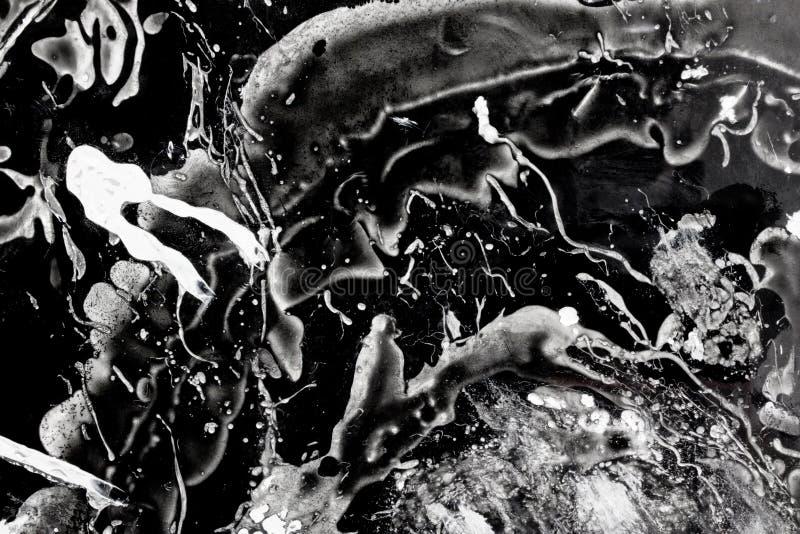 Αλλοδαπή επίθεση πλασμάτων στο διάστημα στοκ εικόνα