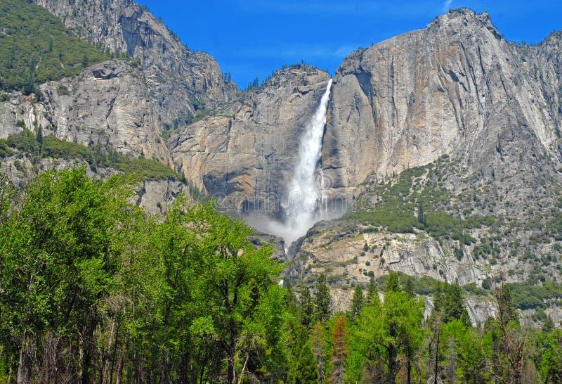 Αλπική σκηνή στο εθνικό πάρκο Yosemite, οροσειρά βουνά της Νεβάδας, Καλιφόρνια στοκ εικόνες