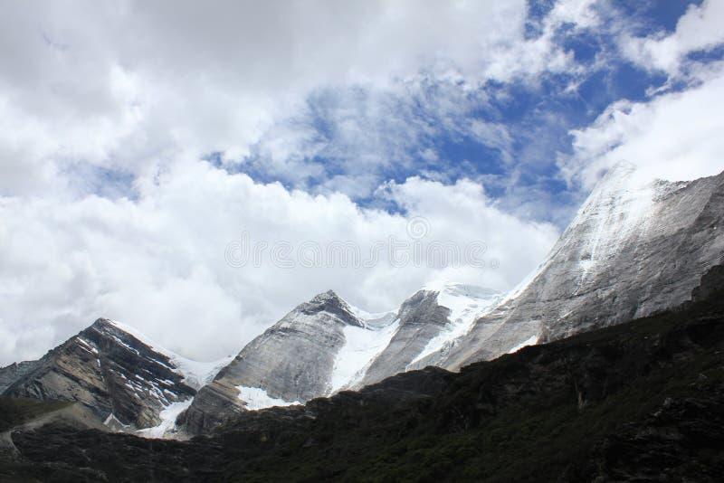 Αλπικός παγετώνας στοκ εικόνες