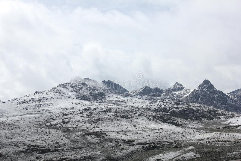 Αλπικός παγετώνας στοκ εικόνες με δικαίωμα ελεύθερης χρήσης