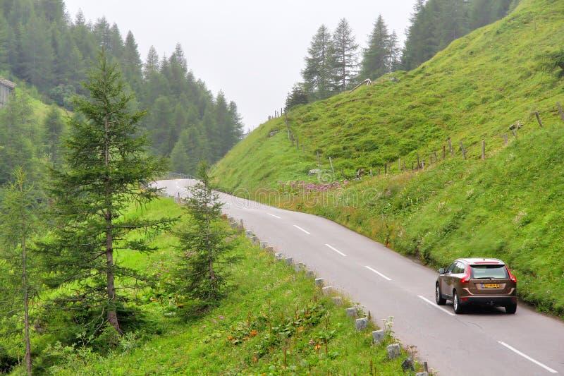 αλπικός υψηλός δρόμος grossglockner στοκ εικόνα με δικαίωμα ελεύθερης χρήσης