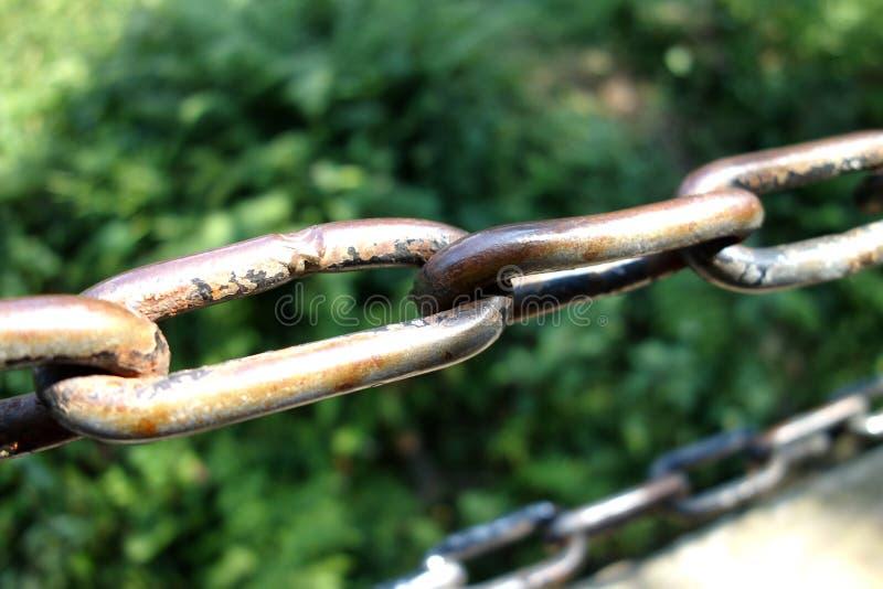 Αλυσίδα σιδήρου στοκ εικόνες με δικαίωμα ελεύθερης χρήσης