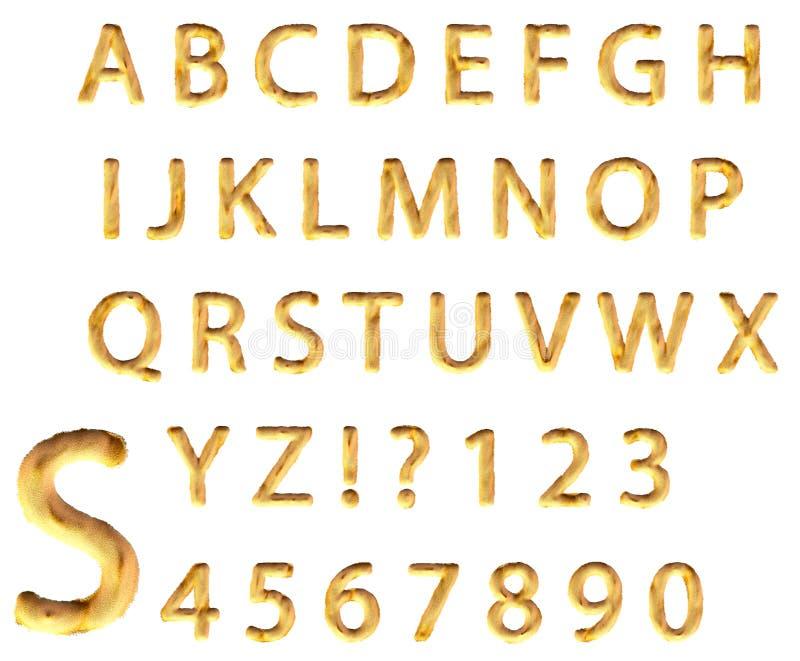 Αλφάβητο άμμου απεικόνιση αποθεμάτων