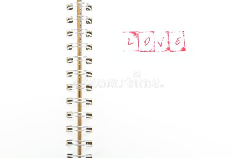 Αλφάβητο γραμματοσήμων με την ΑΓΑΠΗ λέξης στοκ φωτογραφία με δικαίωμα ελεύθερης χρήσης