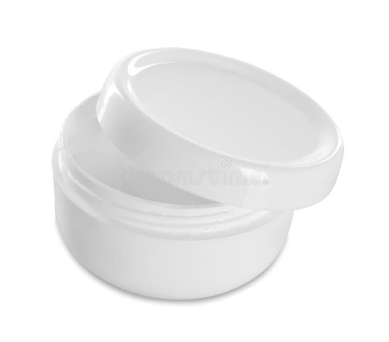 Βάζο ή κενή συσκευασία για το καλλυντικό προϊόν στοκ εικόνες