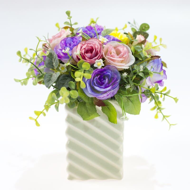 Βάζο με τα λουλούδια στοκ εικόνες