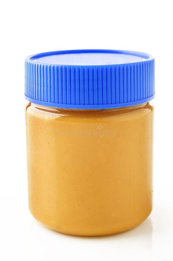 Βάζο του φυστικοβουτύρου στοκ φωτογραφία