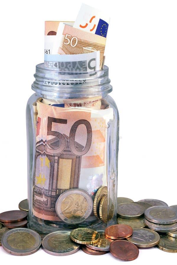 Βάζο χρημάτων στοκ εικόνες με δικαίωμα ελεύθερης χρήσης