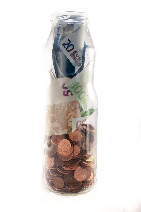 Βάζο χρημάτων στοκ φωτογραφίες