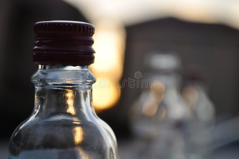 Βάθος των μπουκαλιών τομέων στοκ φωτογραφία με δικαίωμα ελεύθερης χρήσης