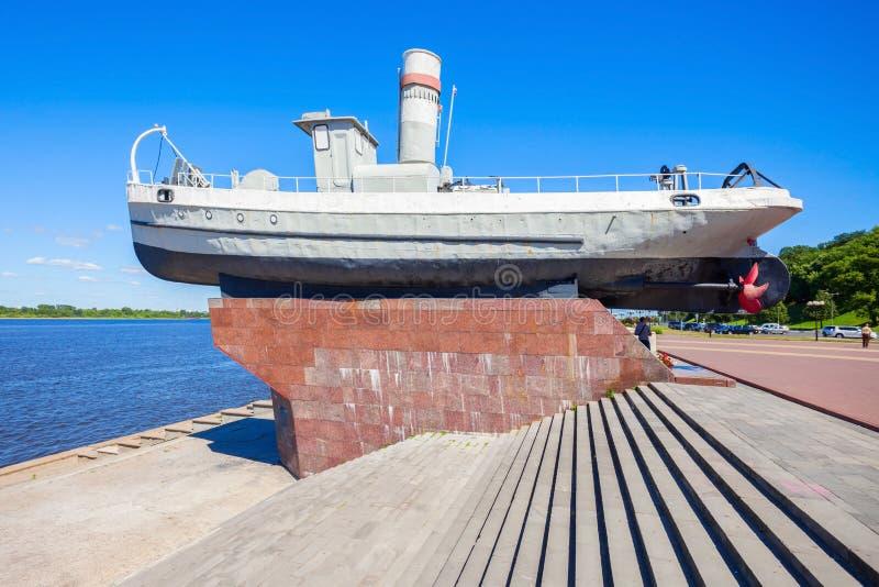 Βάρκα ηρώων, Nizhny Novgorod στοκ φωτογραφίες με δικαίωμα ελεύθερης χρήσης