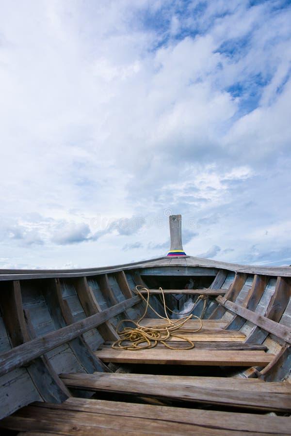 βάρκα κενή στοκ εικόνα με δικαίωμα ελεύθερης χρήσης