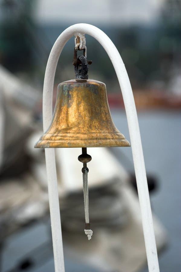 βάρκα κουδουνιών στοκ εικόνα
