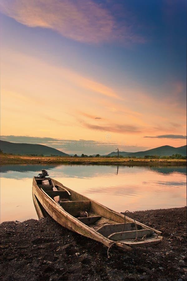 Βάρκα κυνηγού στοκ φωτογραφίες με δικαίωμα ελεύθερης χρήσης