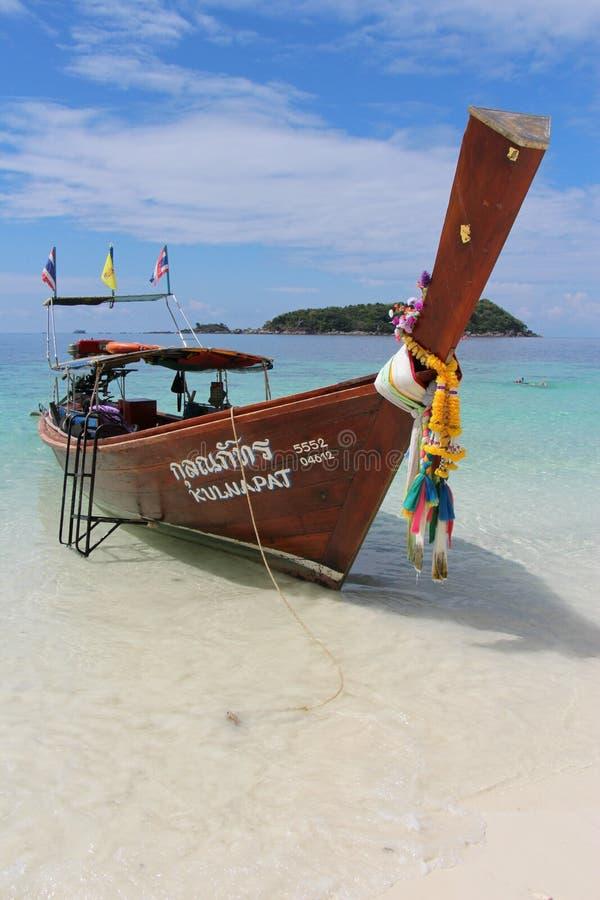 βάρκα με μακριά ουρά στοκ εικόνα με δικαίωμα ελεύθερης χρήσης