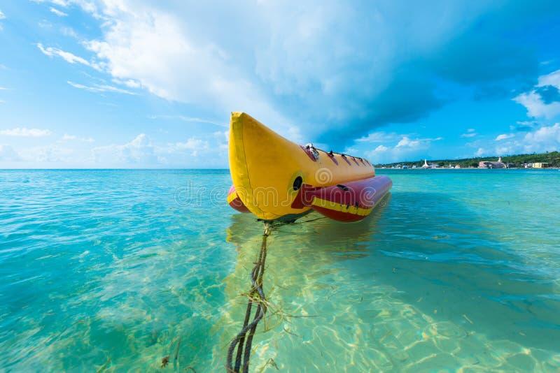Βάρκα μπανανών στοκ εικόνες