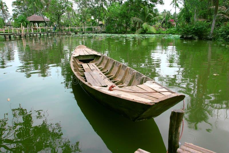 βάρκα ξύλινη στοκ φωτογραφίες με δικαίωμα ελεύθερης χρήσης