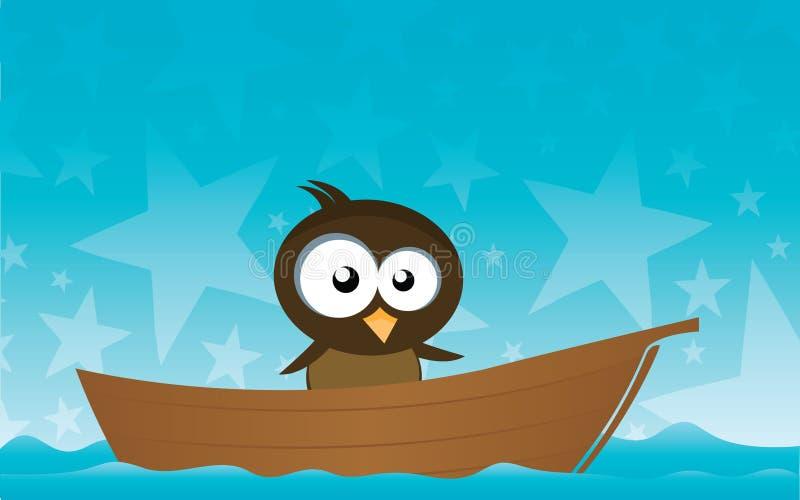 βάρκα πουλιών απεικόνιση αποθεμάτων