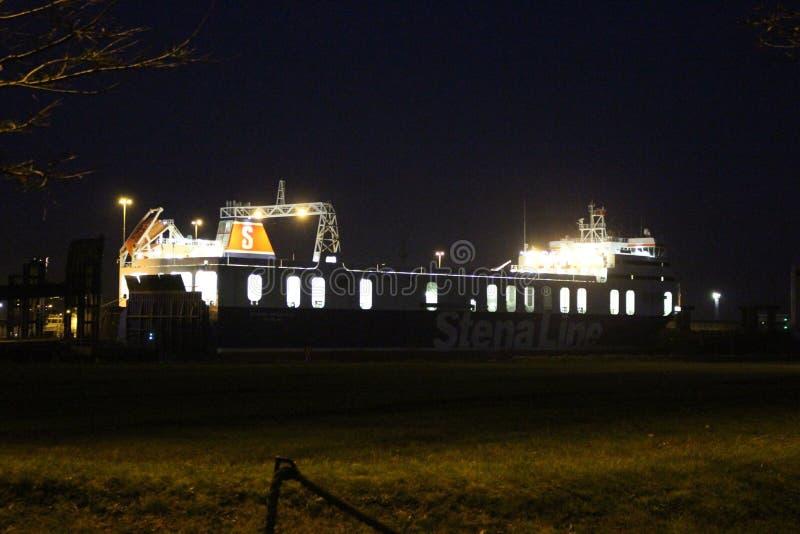 Βάρκα της Stena Line στοκ εικόνα