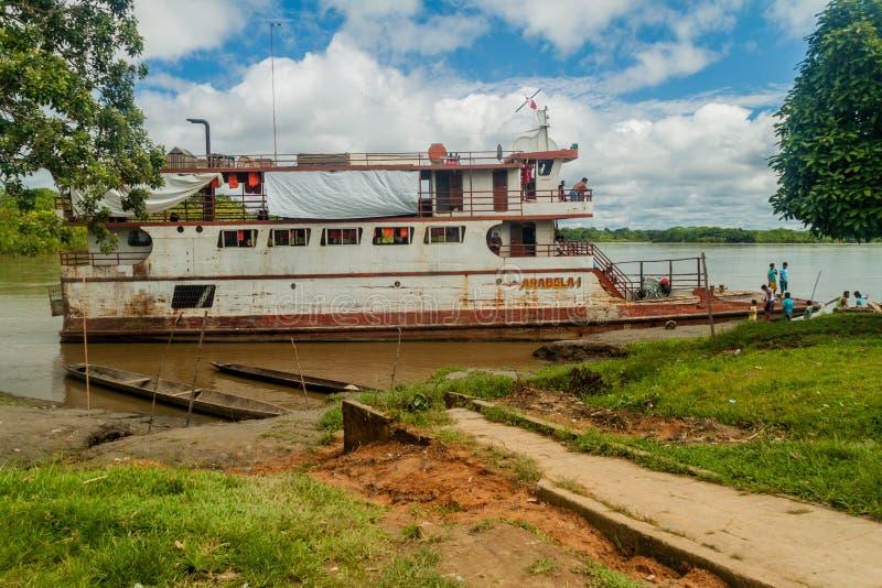 Βάρκα φορτίου Arabela Ι στοκ εικόνα