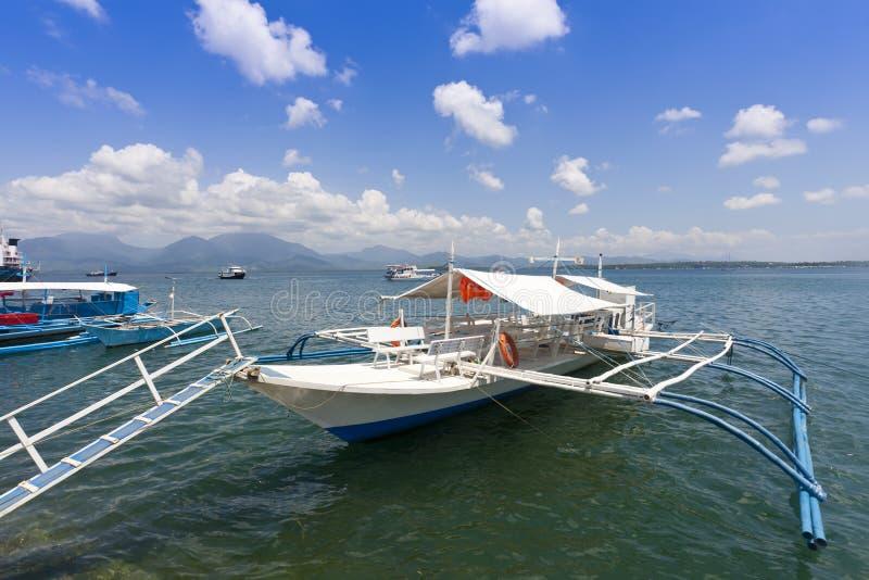 βάρκα banca στοκ φωτογραφία