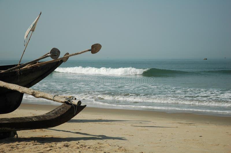 βάρκα goan στοκ φωτογραφίες με δικαίωμα ελεύθερης χρήσης
