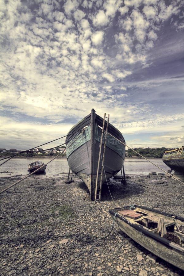 Βάρκα HDR στοκ εικόνα με δικαίωμα ελεύθερης χρήσης