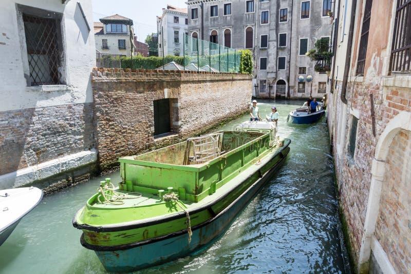 Βάρκες στη Βενετία, Ιταλία στοκ φωτογραφία με δικαίωμα ελεύθερης χρήσης
