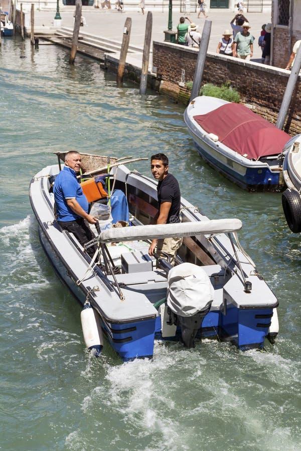 Βάρκες στη Βενετία, Ιταλία στοκ φωτογραφίες