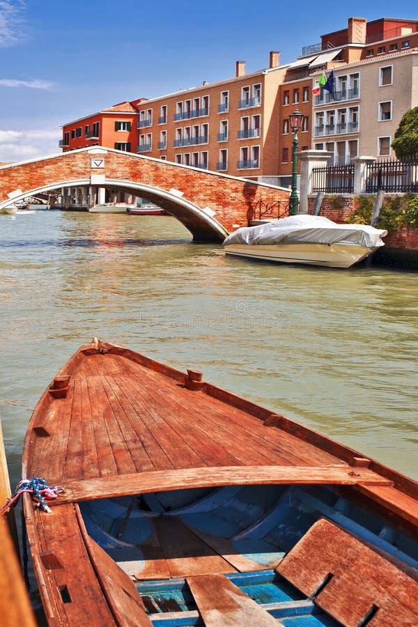Βάρκες στη Βενετία στοκ φωτογραφίες