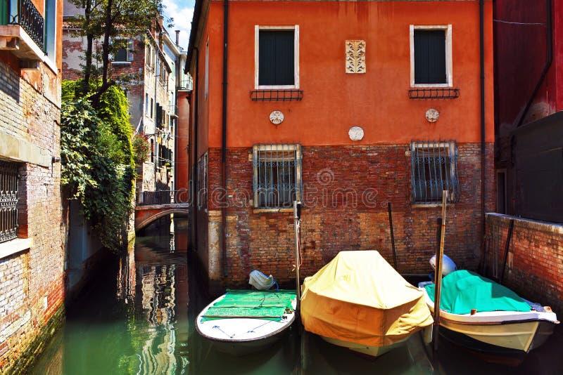 Βάρκες στη Βενετία στοκ εικόνες με δικαίωμα ελεύθερης χρήσης
