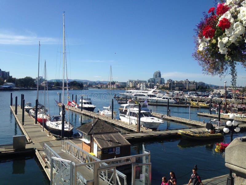 Βάρκες στο λιμάνι στοκ εικόνες με δικαίωμα ελεύθερης χρήσης