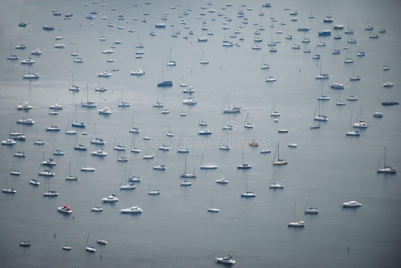 Βάρκες στο Bahia της Βραζιλίας στοκ φωτογραφία