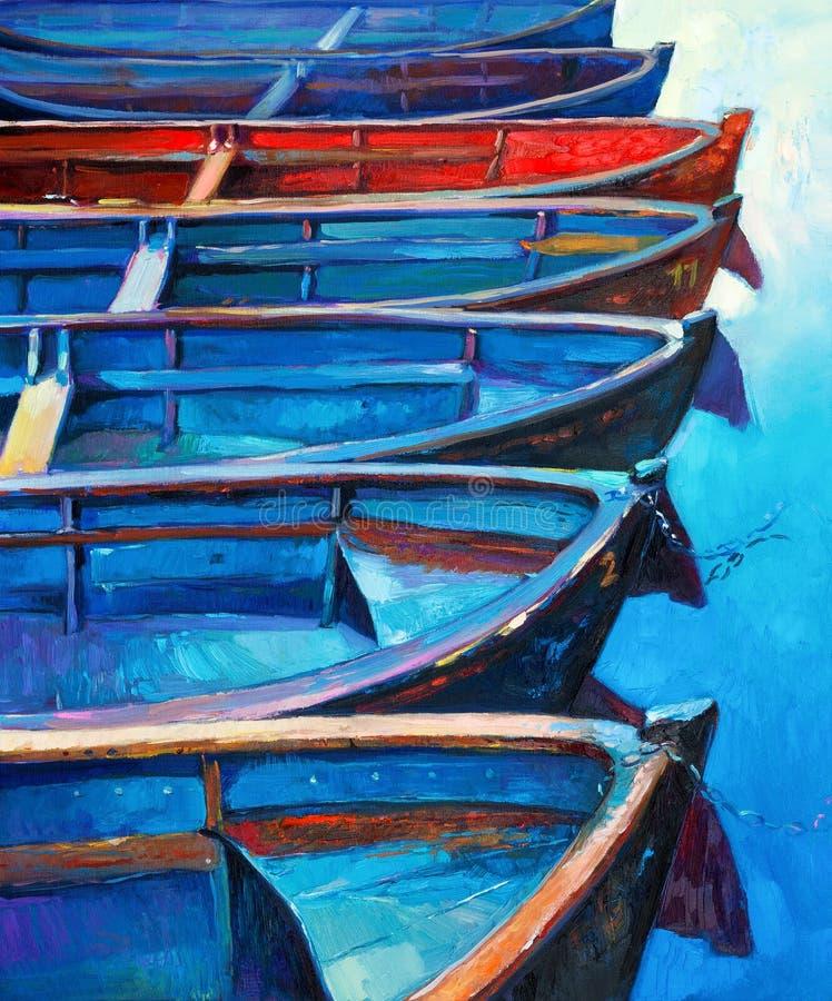 Βάρκες ελεύθερη απεικόνιση δικαιώματος